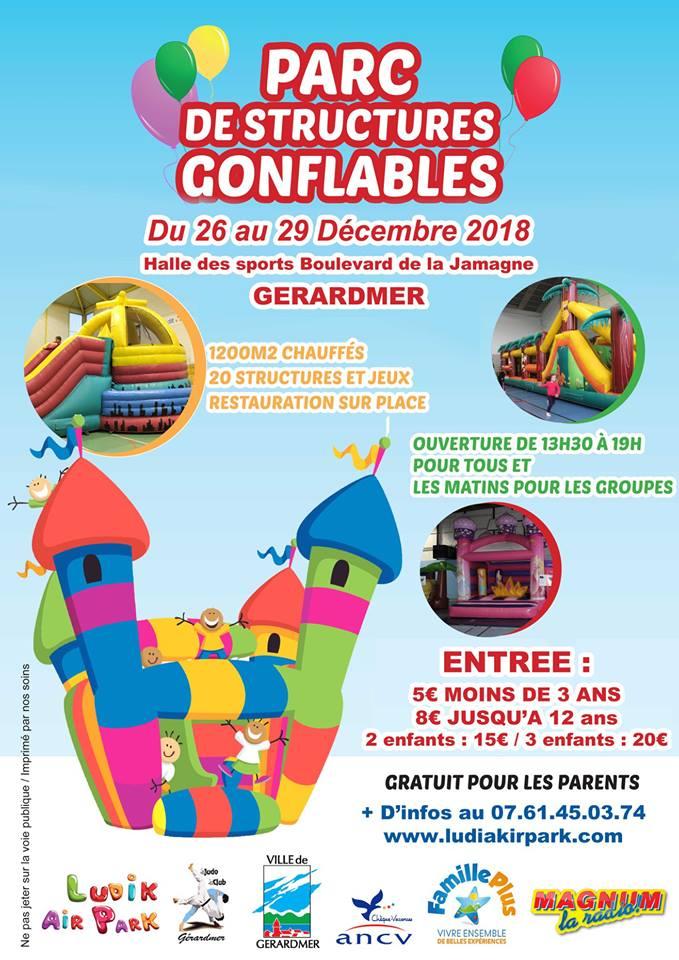 parc de structure gonflable à Gérardmer