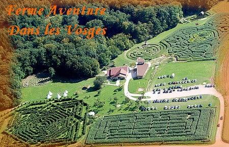 La Ferme Aventure, parc de loisirs en Lorraine