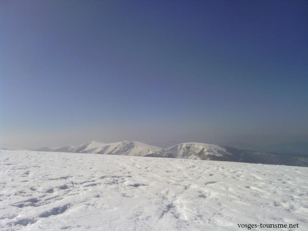 Rothenbachkopf à 1310 mètres dans le massif des Vosges