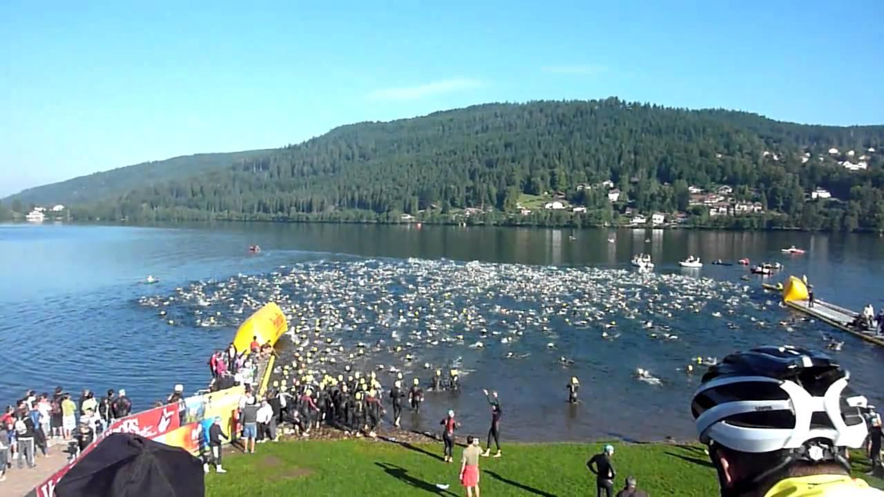 Triathlon de Gerardmer dans les Vosges