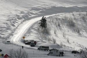 hiver dans les Vosges