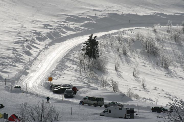 enneigement dans les Vosges, hiver 2015