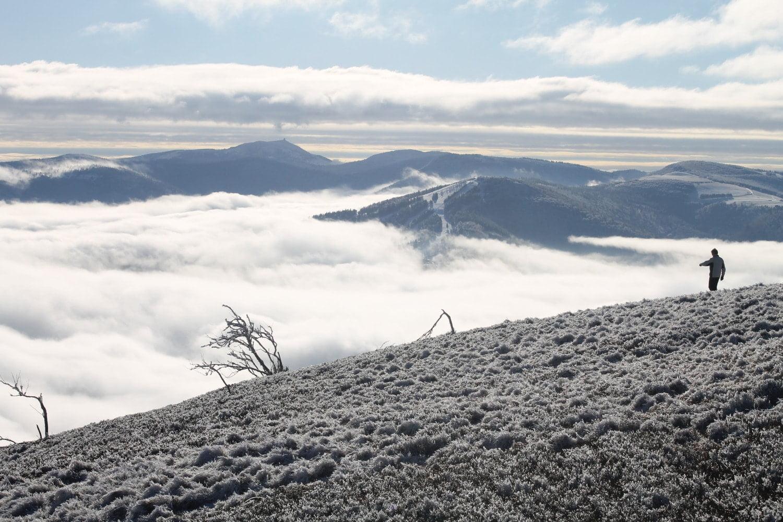 Mer de nuages massif des Vosges