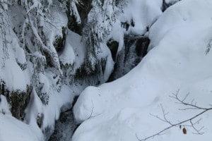 Cascade dans les Vosges