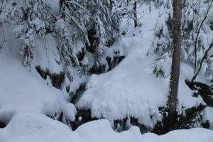 Cascade hiver Vosges