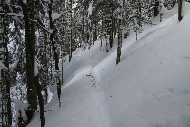 Sentier lac Retournemer