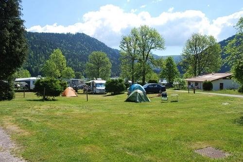 Emplacements au camping les Jonquilles à Longemer