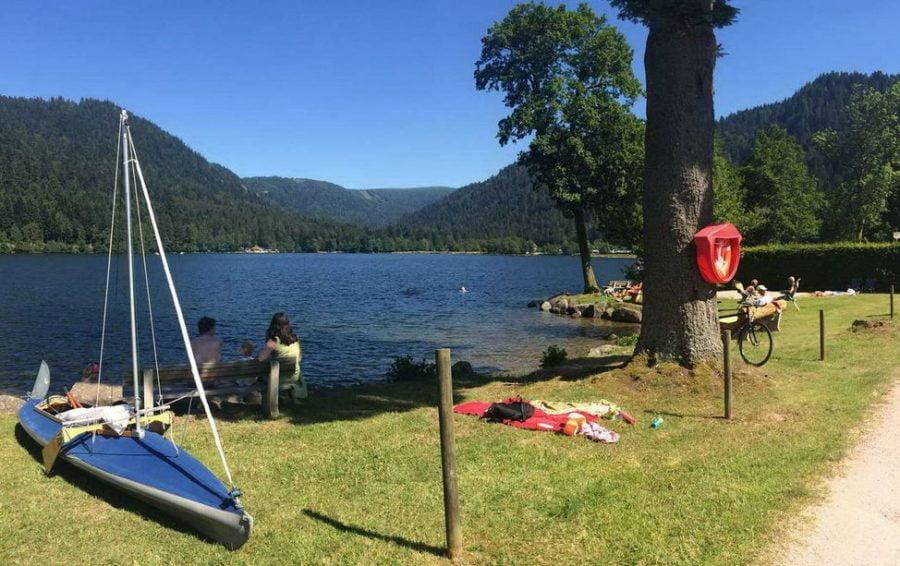 camping lac xontupt longemer