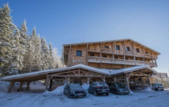 chalet hotel le collet Vosges