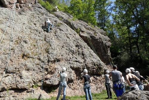 Escalade Dans Les Vosges Avec Cham U0026 39 Vosges Aventures
