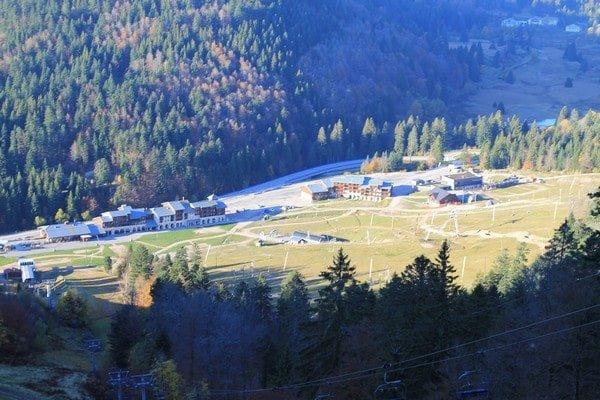 Station domaine skiable alpin La Bresse