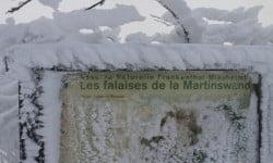 Pancartes falaises de Martinswand