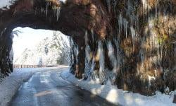 Roche du diable et ses stalactites