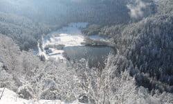 Lac de Retournemer le 27 novembre 2015