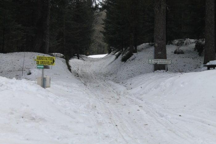 Route de l'auberge de Grouvelin