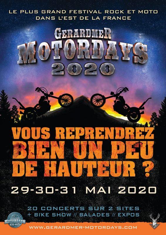 motordays gerardmer 2020