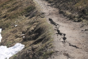Glissement de terrain Hohneck