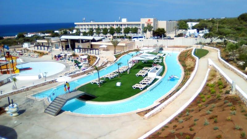 Parc aquatique Minorque face à l'hotel Marmara