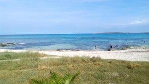 Plage Punta Prima à Minorque