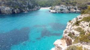 Photo belles criques de Menorca