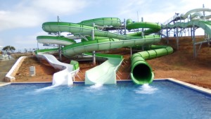 Tobbogan Splashworld sur Menorca