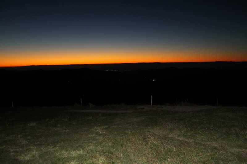 lever du soleil au Hohneck