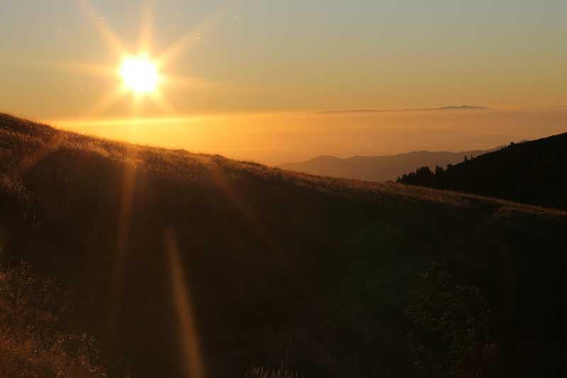 Lever du soleil Hautes-Vosges