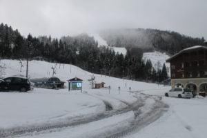 Station de ski de La Bresse le 10 novembre 2016