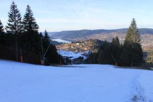 ski début des vacances de noel à gerardmer