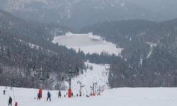 station de ski la bresse-hohneck dans les vosges