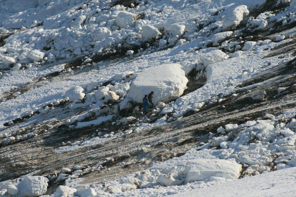 passage de l'avalanche