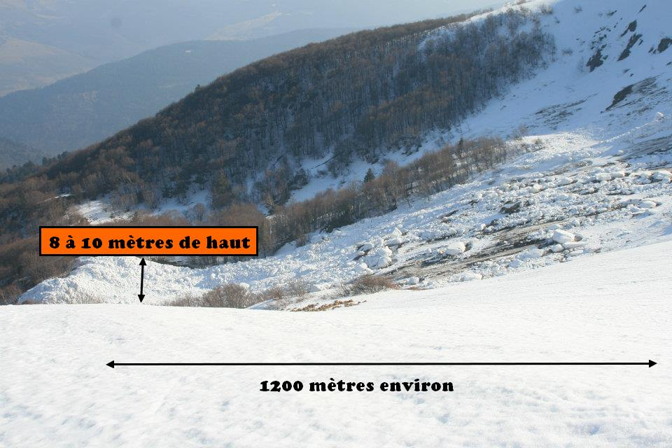 Une grande avalanche dans le massif des Vosges sans victimes
