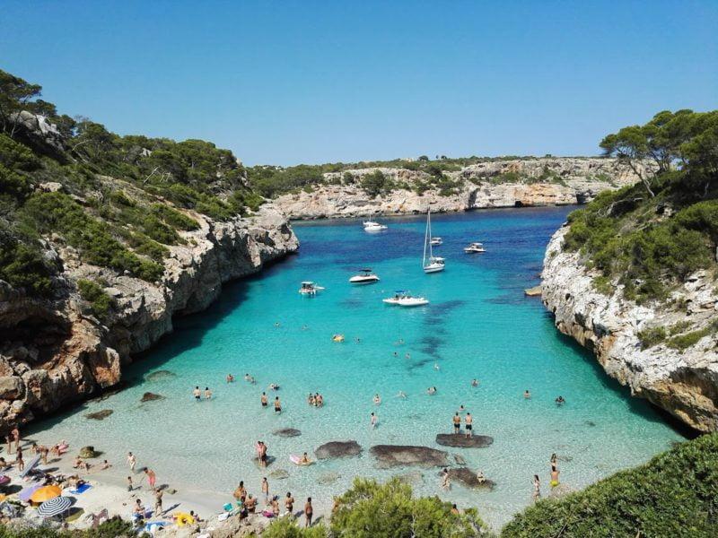 calo des moro une des plus belle crique d'europe à Majorque