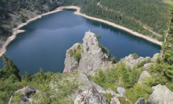 lac blanc dans les vosges alsaciennes