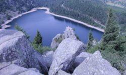 Lac blanc dans les Vosges