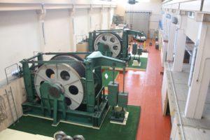 salle des machines plan incline