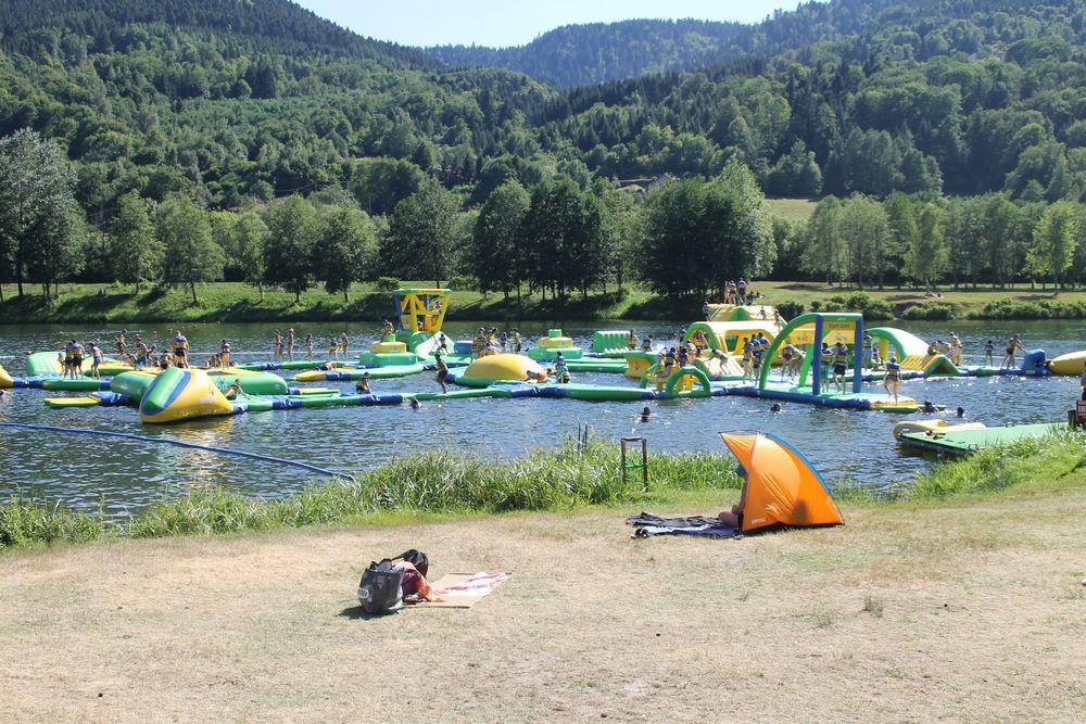 Aquafly lac de la Moselotte