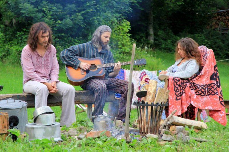 village hippies un avion sans elle