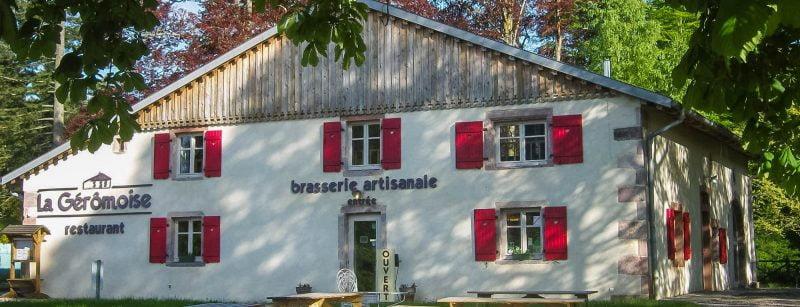 la geromoise brasserie restaurant à Gérardmer