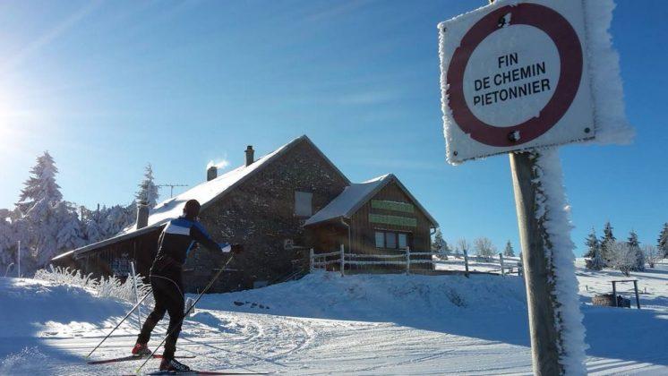 restaurant gazon du faing accès hiver