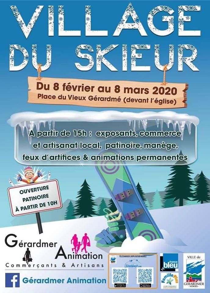 programme village du skieur