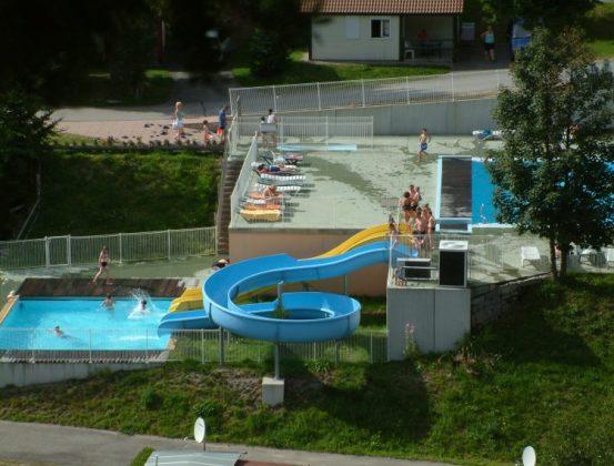 camping avec parc aquatique dans les vosges