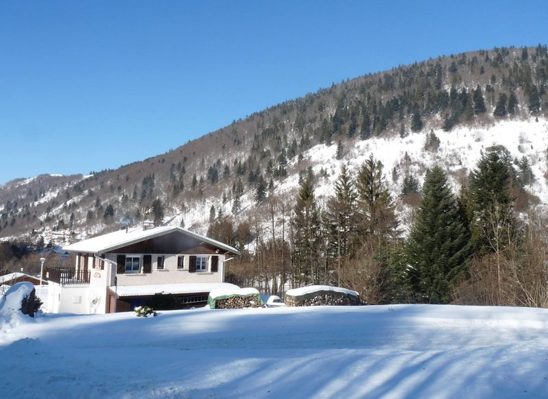 chalet angele hiver