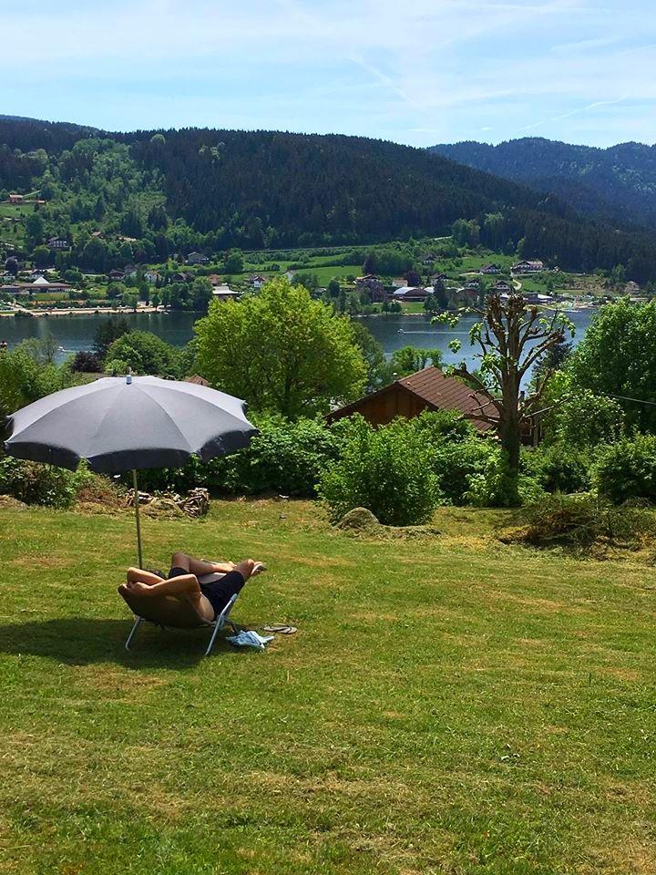 location de chalet à Gérardmer avec vue dégagée sur le lac