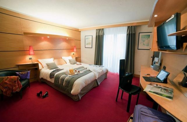 chambre hotel residence les vallees