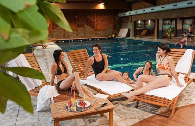 hotel avec piscine à La Bresse