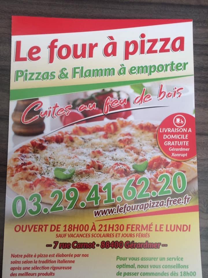 livraison pizza gerardmer