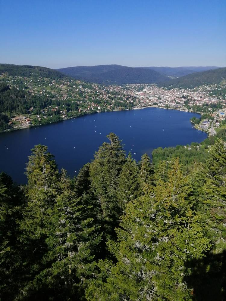 panorama lac gerardmer