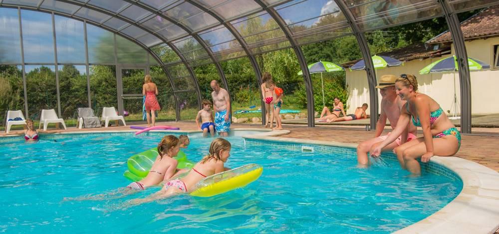 camping avec piscine couverte à Gérardmer