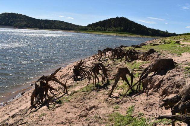 lac pierre percee baignade interdite